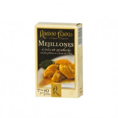Mejillones fritos en escabeche  7/10...