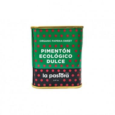 Pimentón dulce ecológico  75g