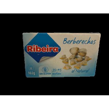 Berberechos natural 35/45 piezas