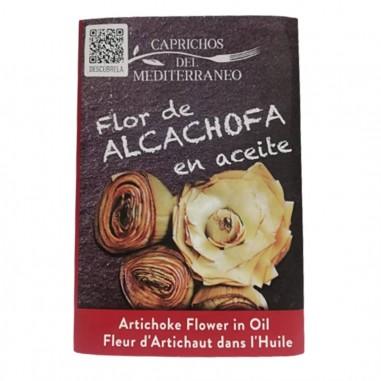 Flor de alcachofa en aceite 8 piezas