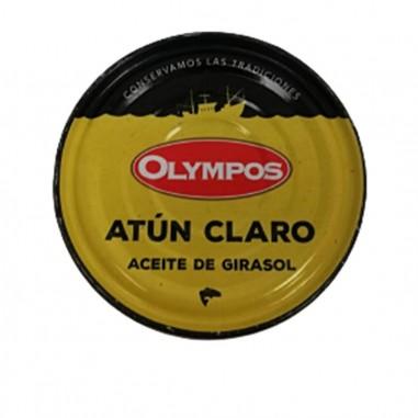 Atún claro en aceite de girasol 160g