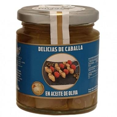 Delicias de caballa en aceite de oliva