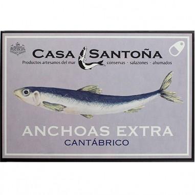 Anchoas extra Cantábrico 10 filetes