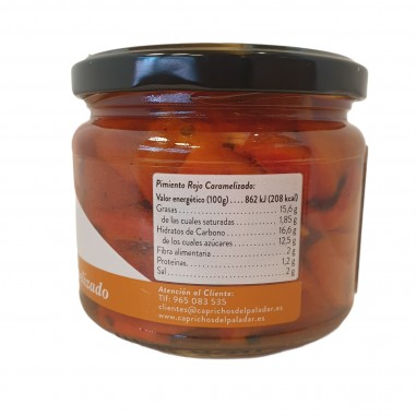 Pimiento rojo caramelizado  250g